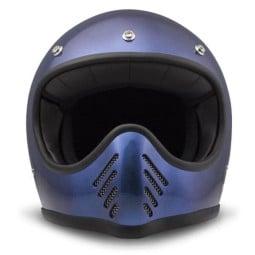 Casco moto DMD Seventy Five Metallic Blue, Cascos Vintage