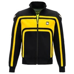 Motorcycle Fabric Jacket BLAUER HT Easy Rider Yellow