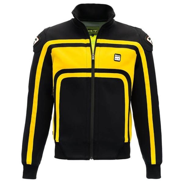 Motorrad-Stoffjacke BLAUER HT Easy Rider Yellow, Motorrad Textiljacken
