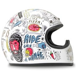 DMD helm Racer Tribal