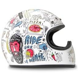 DMD helmet Racer Tribal