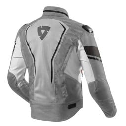 Motorcycle Fabric Jacket REVIT Vertex Air Grey, Motorcycle jackets
