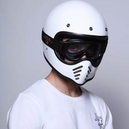 Gafas moto DMD Ghost Clear, Gafas de Moto
