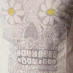 T-shirt Holy Freedom Giant vintage weiß ,T-Shirts