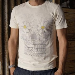 T-shirt Holy Freedom Giant vintage blanco, T-Shirts
