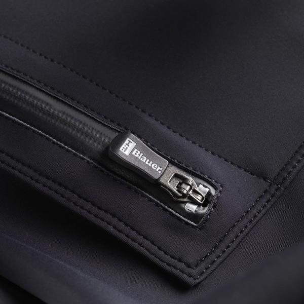 Blouson Moto Tissu BLAUER HT Easy Woman 1.1 Asphalte Noir