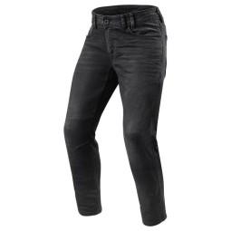 Jeans moto Revit Detroit TF grigio scuro, Jeans Moto
