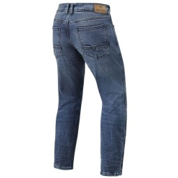 Jeans moto Revit Detroit TF blu scuro