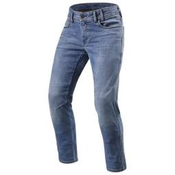 Jeans moto Revit Detroit TF bleu, Jeans de moto