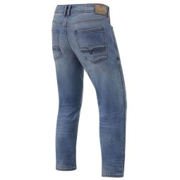 Jeans moto Revit Detroit TF azzurro