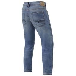 Jeans moto Revit Detroit TF azzurro, Jeans Moto