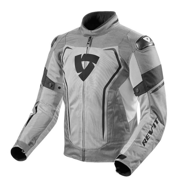 Motorcycle Fabric Jacket REVIT Vertex Air Grey