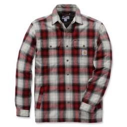 Carhartt Hubbard Sherpa lined Plaid shirt, Shirts