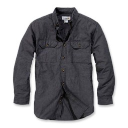 Camisa Carhartt Fort solid black