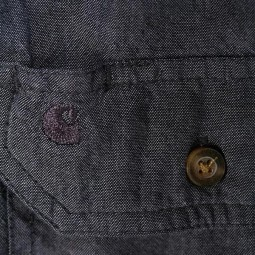 Camicia Carhartt Fort solid black, Camicie