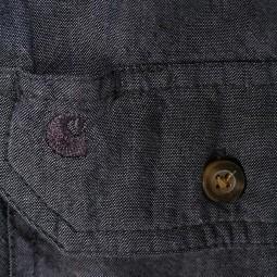 Carhartt Fort solid black Hemd, Hemden
