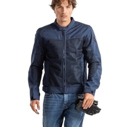 Motorcycle summer jacket Revit Eclipse blue, Motorcycle jackets