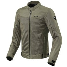 Motorcycle summer jacket Revit Eclipse green, Motorcycle jackets