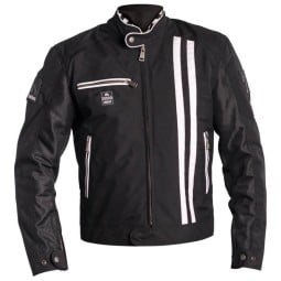 Summer motorcycle jacket Helstons Shelby black