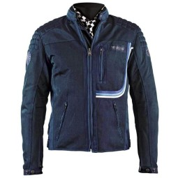 Summer motorcycle jacket Helstons Sonny blue ,Motorcycle Textile Jackets