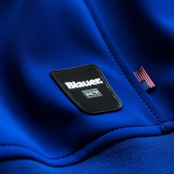 Motorcycle Fabric Jacket BLAUER HT Easy Man 1.1 Blu Limoges ,Motorcycle Textile Jackets