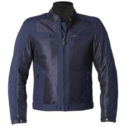Giacca moto estiva Helstons Spring blu, Giubbotti e Giacche Tessuto Moto