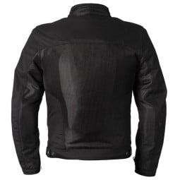 Sommer Motorradjacke Helstons Spring schwarz, Motorrad Textiljacken
