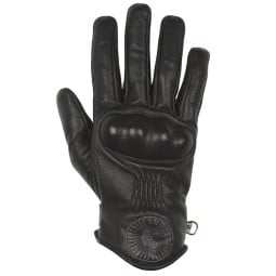 Helstons Sun motorcycle gloves black ,Motorcycle Leather Gloves