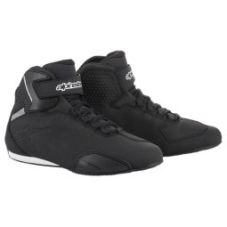 Alpinestar Sektor black motorcycle shoes, Motorcycle Racing Boots