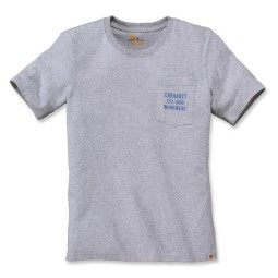 T-shirt Carhartt Graphic Pocket heather grau, T-Shirts