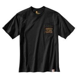 T-shirt Carhartt Graphic Pocket schwarz