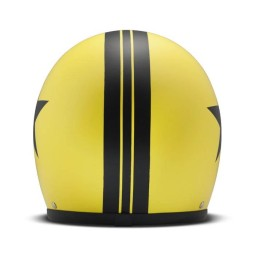 DMD helmet Vintage Star Yellow jet ,Jet Helmets