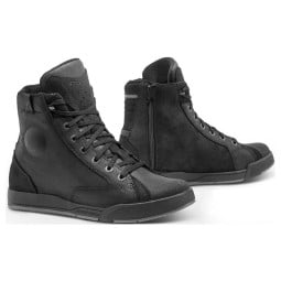 Motorcycle shoe Forma Boots Lounge black, Motorcycle Shoes Urban