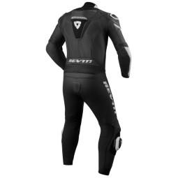 Motorcycle suit one piece Revit Argon black white