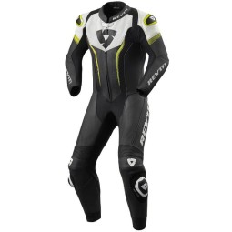 Motorcycle suit one piece Revit Argon black yellow, Motorcycle Suit