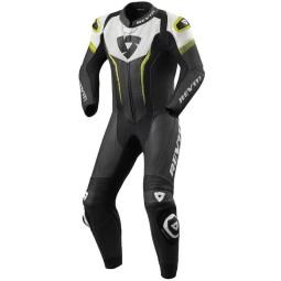 Tuta moto Revit Argon nero giallo, Tute Moto Pelle