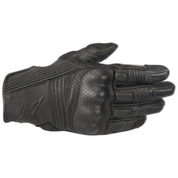 Motorcycle gloves Alpinestars Mustang v2 black ,Motorcycle Leather Gloves