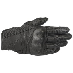 Motorcycle gloves Alpinestars Mustang v2 black, Summer gloves