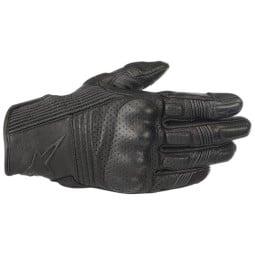 Motorrad-Handschuhe Alpinestars Mustang v2 schwarz, Sommer Handschuhe