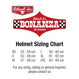Motorcycle helmets Biltwell Bonanza flat black ,Jet Helmets