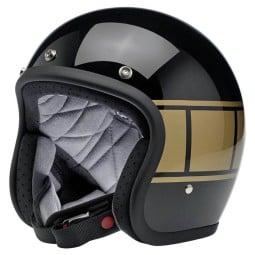 Motorrad helm Biltwell Bonanza Holeshot ,Jet Helme