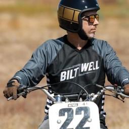 Motorcycle helmets Biltwell Bonanza Holeshot ,Jet Helmets