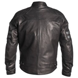 Giacca motociclista pelle Helstons Jersey nero