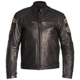 Helstons Joker motorcycle jacket brown ,Leather Motorcycle Jackets