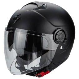Motorrad helm Scorpion Exo City Solid Matt-schwarz ,Jet Helme