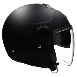 Casco Scorpion Exo City Solid nero opaco, Caschi Jet