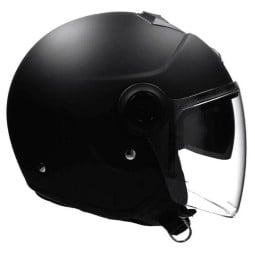 Motorcycle helmet Scorpion Exo City Solid matte black, Jet Helmets