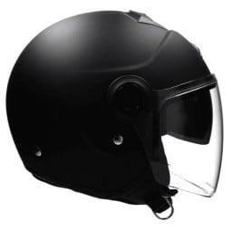 Motorrad helm Scorpion Exo City Solid Matt-schwarz