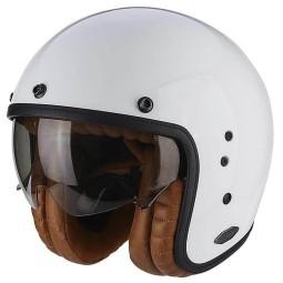 Casco de moto Scorpion Belfast Luxe blanco ,Cascos Jet