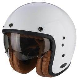 Motorcycle jet helmet Scorpion Belfast Luxe white ,Jet Helmets